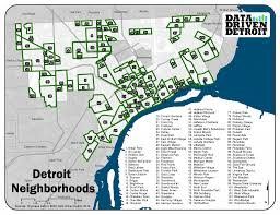 Metro Detroit Map by Data Driven Detroit Arise Detroit U0027s Neighborhoods Day