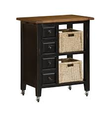 kitchen furniture black kitchen island cart with granite topblack