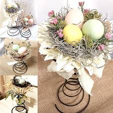 vintage centerpieces homeroad diy beautiful vintage bed centerpieces