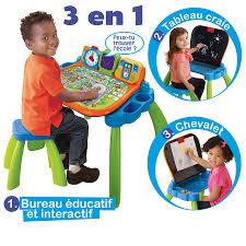bureau tableau 2 en 1 magi bureau interactif 3 en 1 vtech jouets 1er âge tableaux et