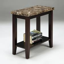 recliner wedge side table wedge shaped chairside table wedge