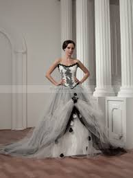 scottish wedding dresses extravagant beaded strapless satin wedding dress with tulle overlay