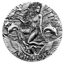 ancient gods week aphrodite is the final coin in the perth mints
