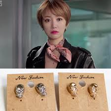 pretty woman earrings women accessories 2015 korean episodes she was pretty vintage cool