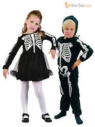Halloween Costumes Girls Age 3 Age 2 3 Childrens Skeleton Costume Boys Girls Toddler Kids