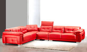 Red Leather Chaise Lounge Chairs Leather Sofa Leather Chaise With Iron Rustic Midcentury Indoor