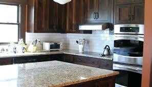 glass tile backsplash with dark cabinets backsplash ideas for dark cabinets kitchen tile ideas with dark