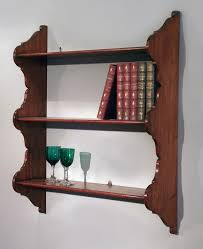 Hanging Wall Bookshelves by Wall Shelves Design Old Antique Shelves For Wall Furniture