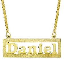 Name Plated Necklace 11 Best Name Plates Images On Pinterest Name Plates Name