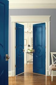 Colored Interior Doors High End Style With A Stroke Of A Brush