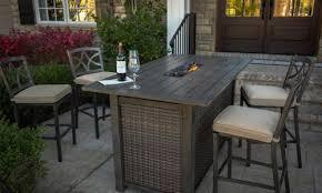 high table patio set lovely bar height fire pit table high table patio set unique agio