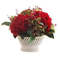 poinsettia artificial flowers you u0027ll love wayfair