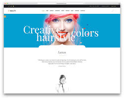 15 hair salon and barber shop wordpress themes 2017 colorlib