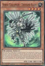 card tips heroic challenger thousand blades yu gi oh fandom