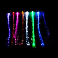 fiber optic light strands illuminated fiberoptic lights glowbys white strands 2 99 each 12