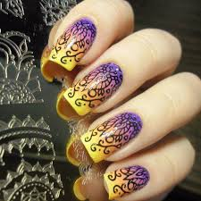nail stamping designs choice image nail art designs