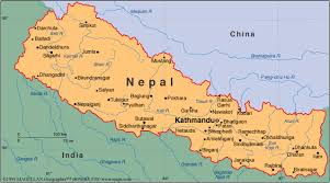 map of nepal and india nepal introduction