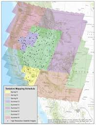 Western Us Map Characterizing And Monitoring Shrubland Grassland Components