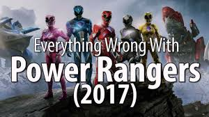 wrong power rangers 2017