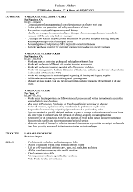 sle of resume warehouse picker resume sles velvet