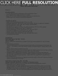 it qualifications resume resume for your job application