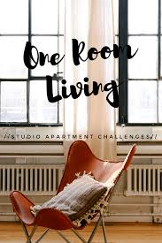 one room living the studio apartment challenge