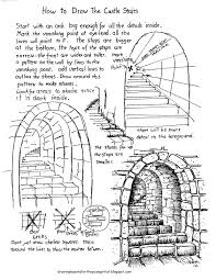 how to draw the rustic garden gate with a stone arch how to draw
