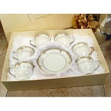 d lusso favors d lusso designs espresso cup and saucer set of 6 walmart