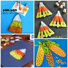 Pinterest Crafts For Kids To Make - candy corn crafts for kids to make crafty morning