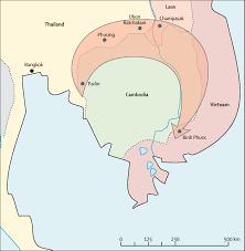 Cdc Malaria Map Spread Of A Single Multidrug Resistant Malaria Parasite Lineage