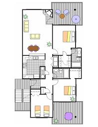 Floor Plan To Scale by Floor Plans Cordgrass Bay Condos