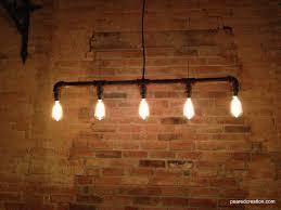 industrial lighting kitchen lampe edison industrielle lustre steampunk par newwineoldbottles