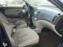 2010 hyundai elantra interior salvage certificate 2010 hyundai elantra sedan 4d 2 0l 4 for sale