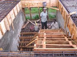 treppen einschalen baufortschritt ausbildungszentrum hugo mill