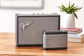 fender u0027s new speakers add bluetooth to the classic amp design