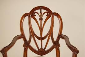 mahogany shield back dining chairs sweetheart chairs