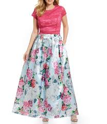 dillons floral juniors plus size homecoming prom formal dresses dillards