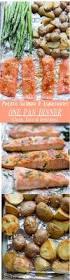 Asparagus Dishes Main Course - potato salmon and asparagus one pan dinner clean easy