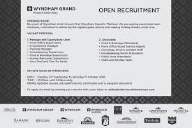Food And Beverage Supervisor Resume Wyndham Grand Is Recruiting