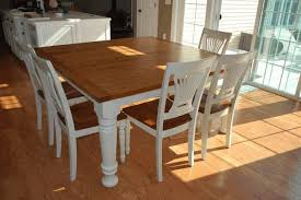 how to make a dining room table sleek square tapered legs best