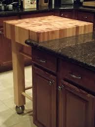 butcher block table on wheels kitchen island with small square butcher block top table on wheels