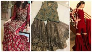 new indian u0026 pakistani garara dresses for girls 2017 youtube
