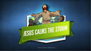 jesus calms the storm kids bible story kids bible stories