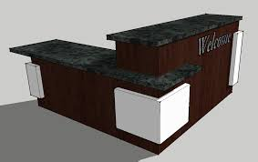 L Reception Desk by Custom Reception Counter Archives Page 5 Of 7 Envisionary Images