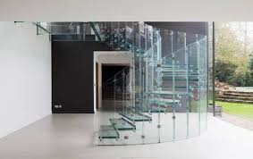 Glass Handrails For Stairs Glass Stairs And Glass Staircase Sillerstairs