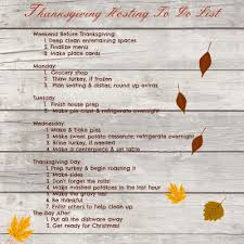 thanksgiving hosting to do list todaysmama