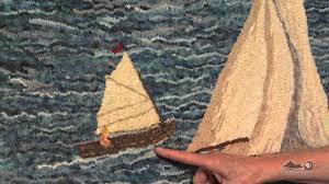 Thrift Rugs Wonders In Wool Folk Artist Prudence Matthews Youtube