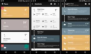 most accurate weather app for android 10 best weather apps for android in 2018 phandroid