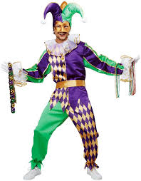 mardi gras costumes men mardi gras renaissance court jester clown costume xs