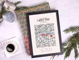 25 unique map anniversary gift ideas on gifts for